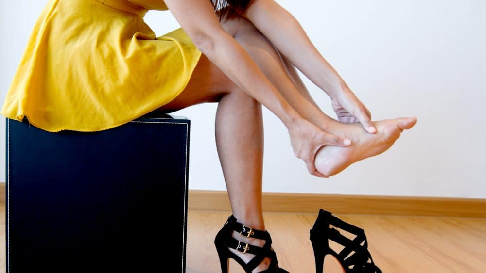 Can Wearing High Heels Cause Fallen Arches?